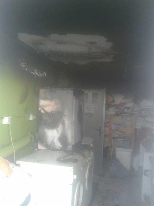 Situación en que ha quedado el lavadero. Foto: SPAM