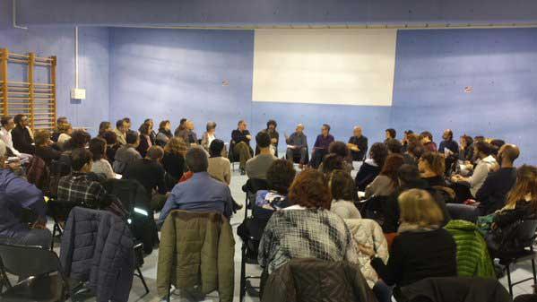 La reunión de padres se celebró el pasado martes en Mataró