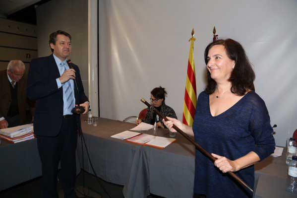 Rosa Pou, de ERC, ya es la nueva alcaldesa de Caldes d'Estrac