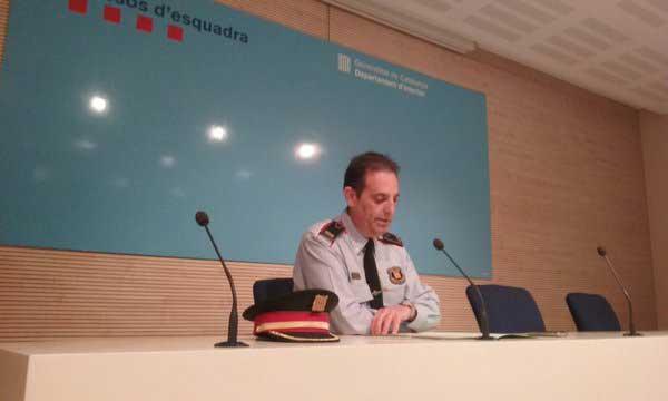 Ramon Grasa, explicando los detalles de la operación