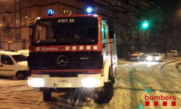 24 de las salidas de los bomberos se hicieron en Mataró