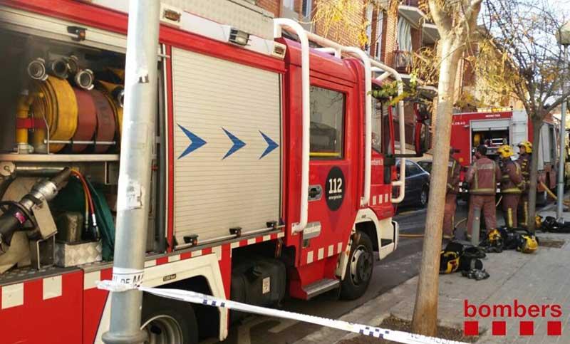 Durante el incendio se han escuchado varias explosiones