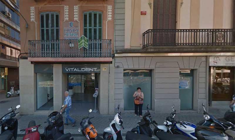 La clínica Vitaldent de Mataró, en el Camí Ral
