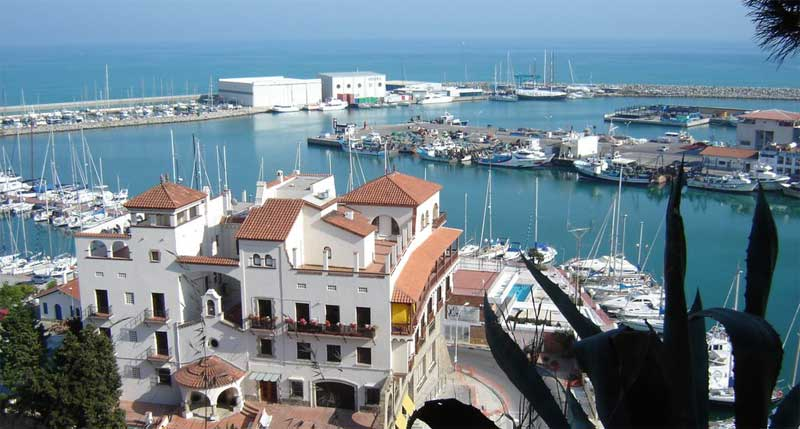 Los hechos tuvieron lugar en el puerto de Arenys