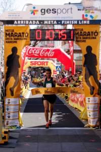 Moment de l'entrada del guanyador. Foto: Jordi Morales