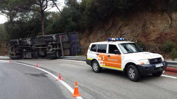 En la B-500 actual son frecuentes los accidentes. Foto: PC Sant Fost