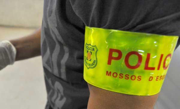 Los ladrones fueron pillados in fraganti por los Mossos