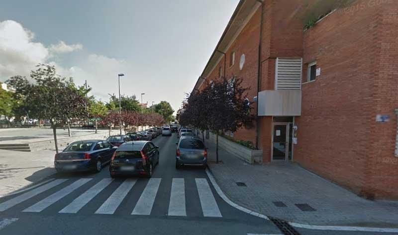 El suceso se produjo en el cruce entre las calles Montserrat y Ramon y Cajal