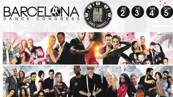 Cartel del Barcelona Dance que se hará en Santa Susanna