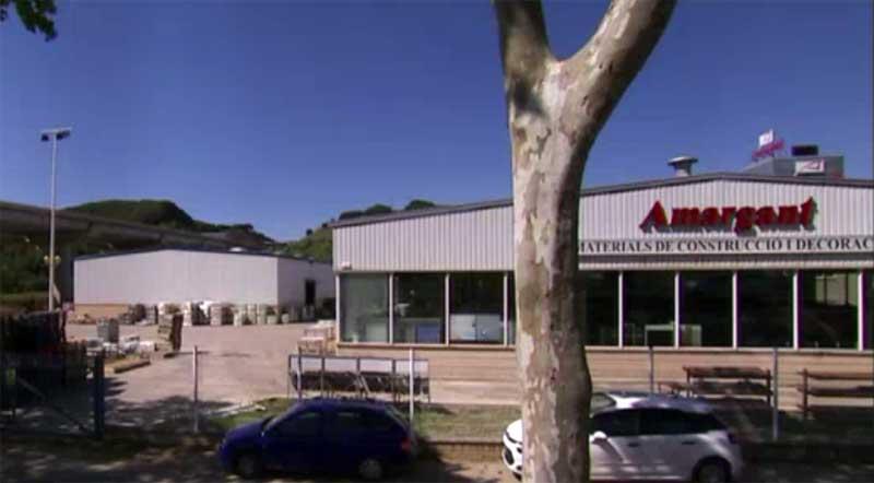 Vista de las instalaciones de la empresa Amargant