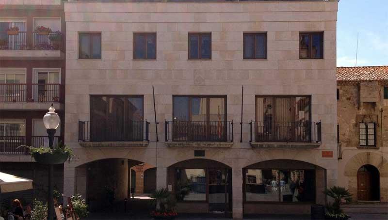 Los ladrones han entrado por un balcón lateral