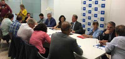 Imagen de la reunión. Foto: CCM