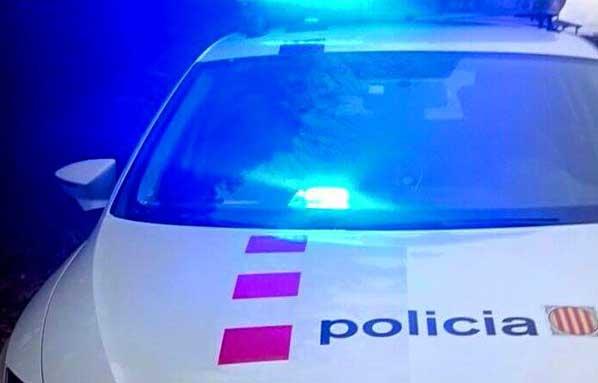 Los Mossos persiguieron a los ladrones por la autopista y la N-II