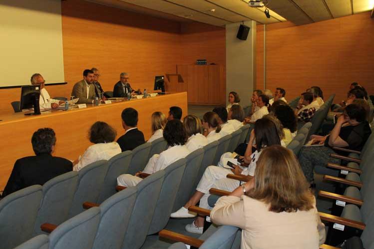 El conseller Toni Comín ha visitado el Hospital de Mataró