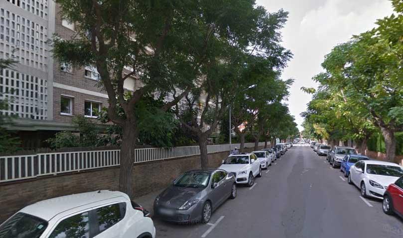 El intento de robo se produjo en la calle Narcís Monturiol