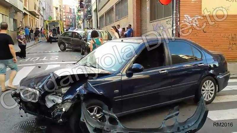 Estado en que quedó el vehículo. Foto: Cerdanyola Directo