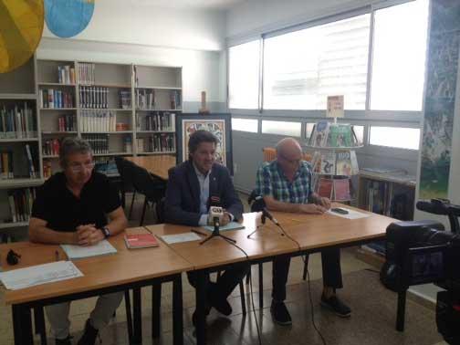 Miquel Àngel Vadell presentó el nuevo curso escolar. Foto: Ajt. de Mataró