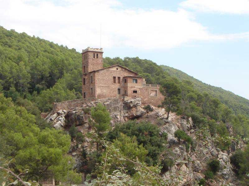 El ciclista ha sido rescatado en la zona de Sant Sebastià de Montmajor