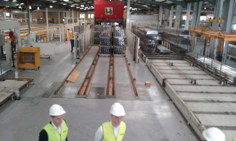 Imagen del interior de la factoría de Santa Agnès. Foto: Sapa