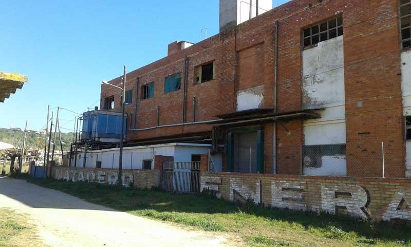 La policía local advirtió del mal estado del antiguo matadero. Foto: Ajt. de Bigues i Riells