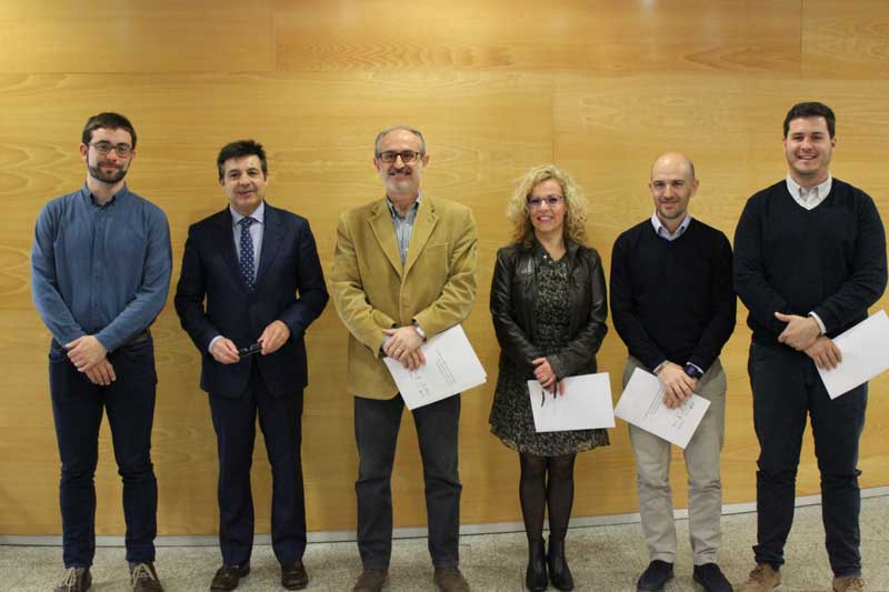 Los alcaldes deMollet del Vallès, Parets del Vallès, La Llagosta, Montmeló, Martorelles, Sta. Maria de Martorelles y St. Fost de Campsentelles