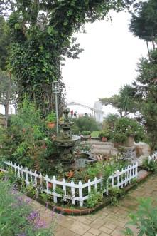 Uno de los jardines