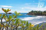 Playa Las Flores, San Miguel, al final Punta Mango.