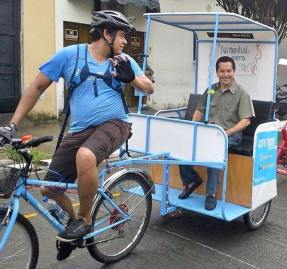 The Pedicab Experience. Foto Cortesía.