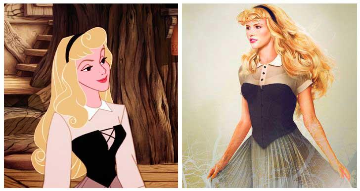 Aurora, Bella Durmiente, Princesa Disney