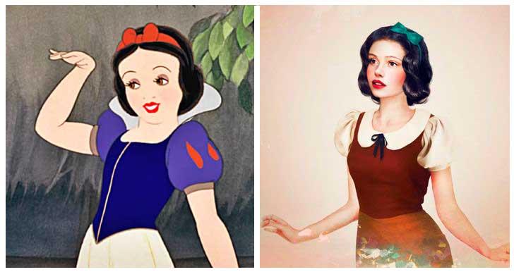 Blanca Nieves, princesa Disney