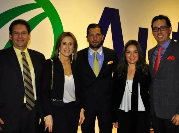 Jacobo Cure, Diana Palacio, Lucas Rodríguez, Angélica Rodríguez y José Miguel Carreria.