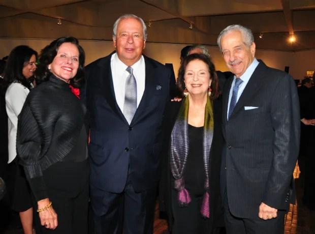 Diana Obregón, Antonio Puerto, Lydia Azout e Isaac Azout.