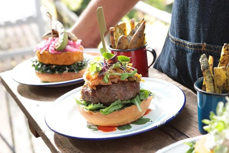 receta de hamburguesa gourmet de carne de res