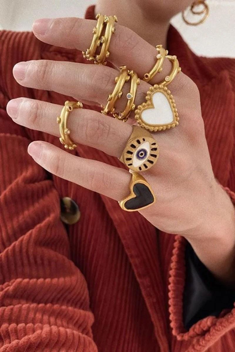 anillos de Daniela Salcedo