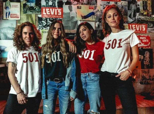 <div>Amalia Andrade, Daniela Salcedo, Ita María y Helena Fadul.</div>
