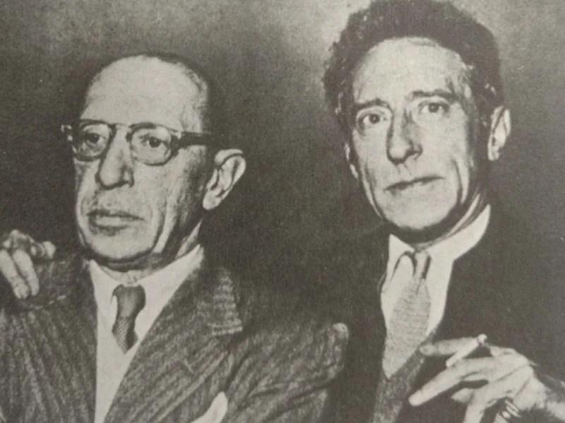 amigo de Stravinsky