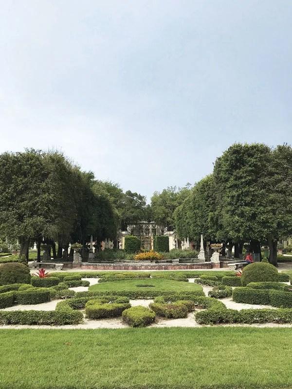 Jardines de Vizcaya en Miami