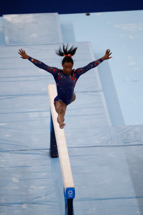 Simone Biles, Juegos Olímpicos de Tokio