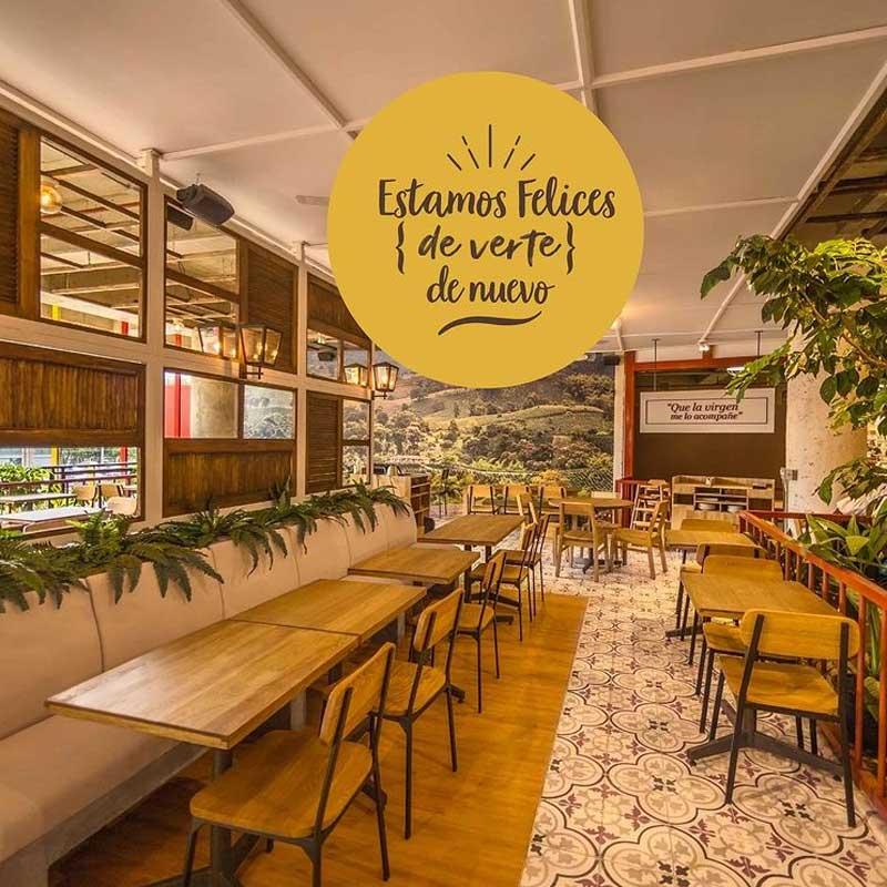 restaurantes paisas, Hacienda, Medellín