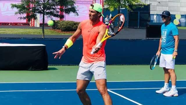 Rafael Nadal, tenista, futbolista, fútbol