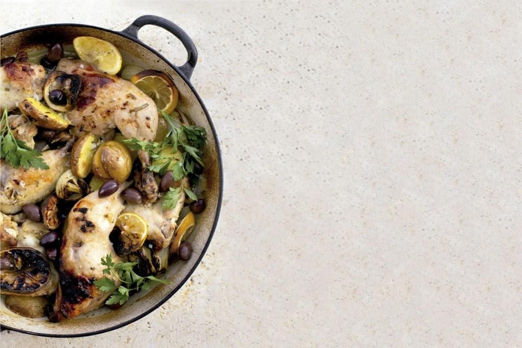 Recetas de comida griega pollo