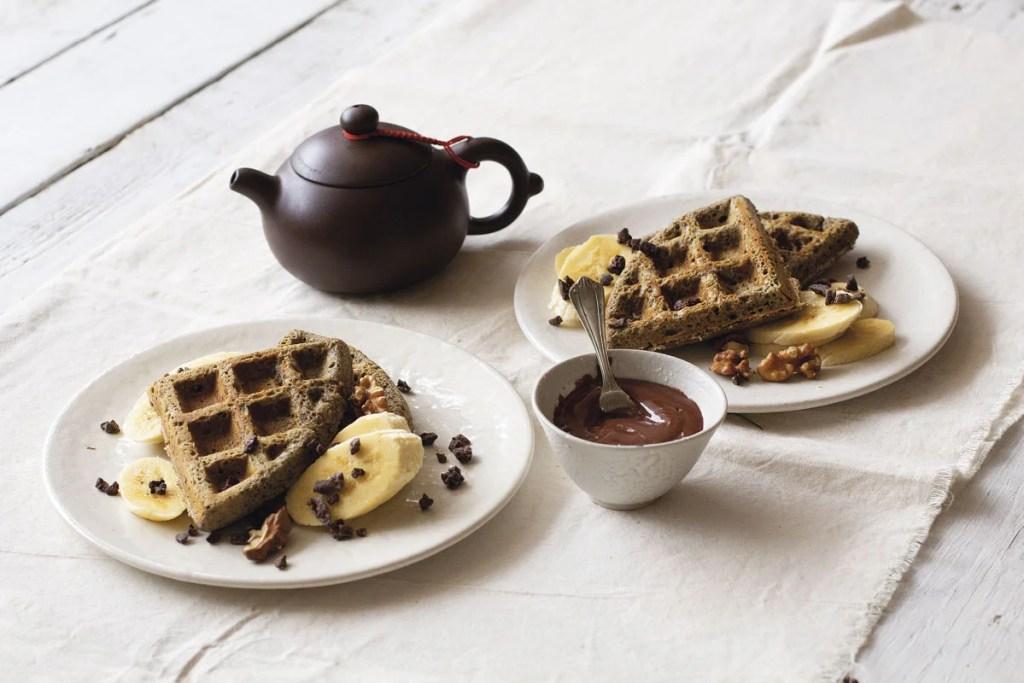 waffles de sarraceno