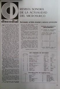 hit Parade Fonorama octubre 1963