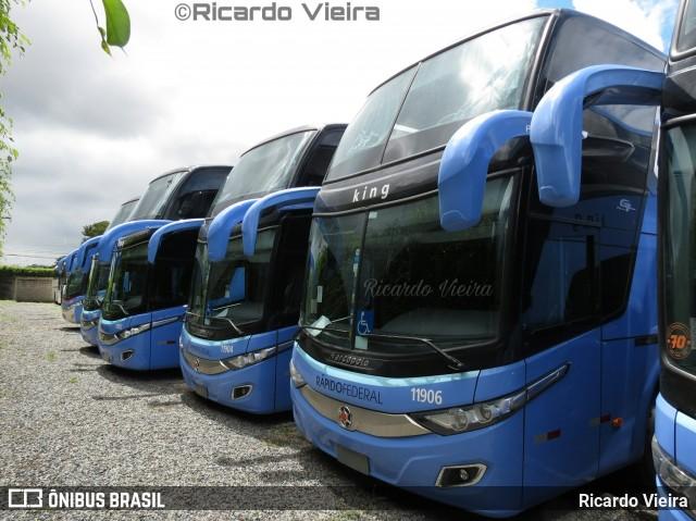 Rápido Federal adquire cinco novos ônibus New G7 DD