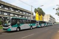 Uberlândia renova frota com 19 ônibus Caio