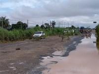 BR-316 ganha protesto contra buracos no Piauí