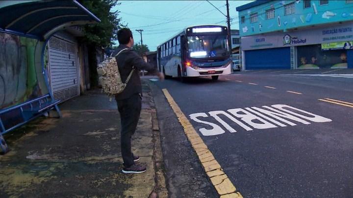 Aumenta o número de assaltos em ônibus na Grande São Paulo