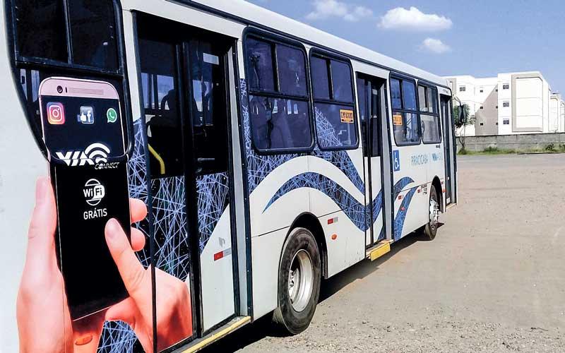 SP: Piracicaba testa wifi em ônibus urbanos