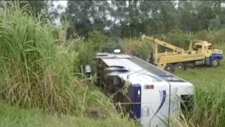 Bandidos matam motorista de ônibus, após tentativa de assalto na PR-444