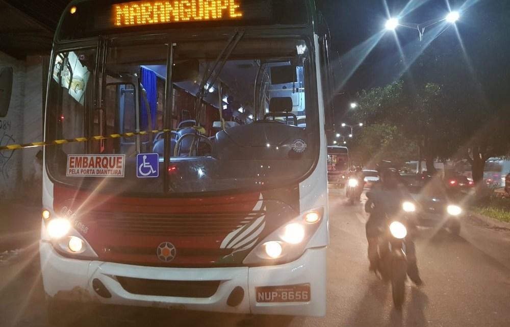 Dois bandidos morrem em  tentativa de assalto a ônibus em Fortaleza
